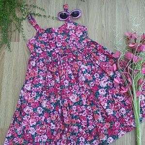 🌸Children's Place Flower Dress. Size 7🌸